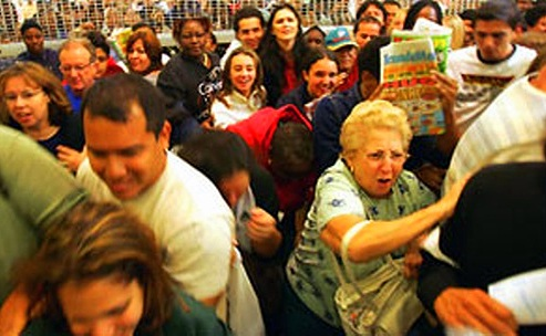 black friday stampede grandma
