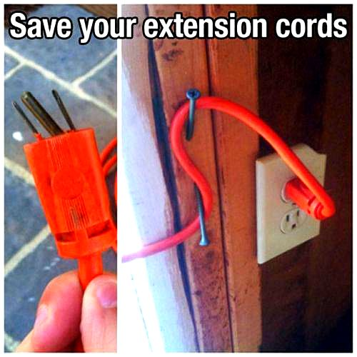 extension cord life hack