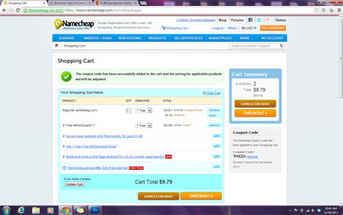 namecheap final coupon